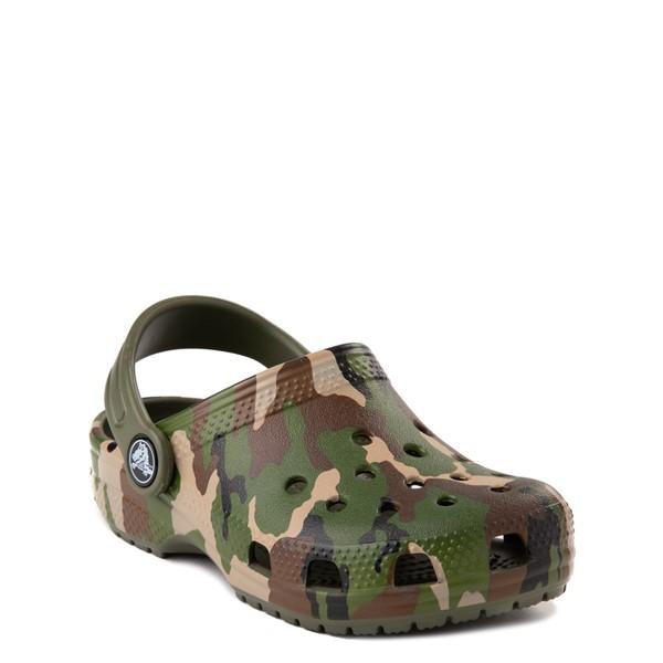 alternate view Crocs Classic Clog - Baby / Toddler / Little Kid - CamoALT5