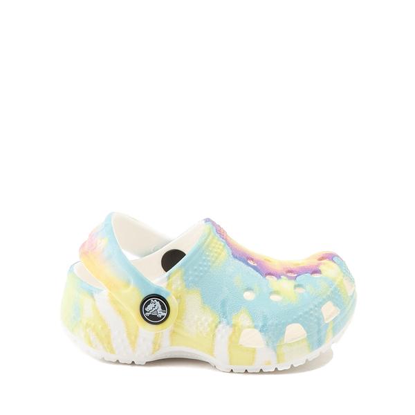 Main view of Crocs Littles™ Clog - Baby - Pastel Tie Dye
