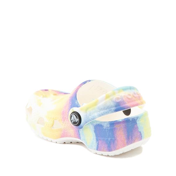 alternate view Crocs Littles™ Clog - Baby - Pastel Tie DyeALT1