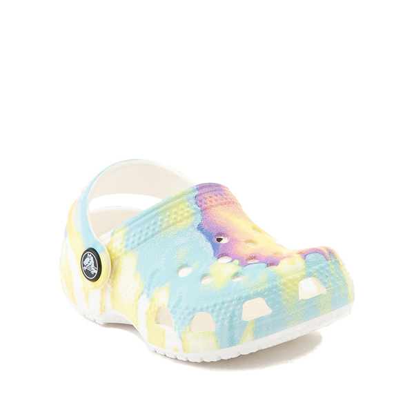 alternate view Crocs Littles™ Clog - Baby - Pastel Tie DyeALT5