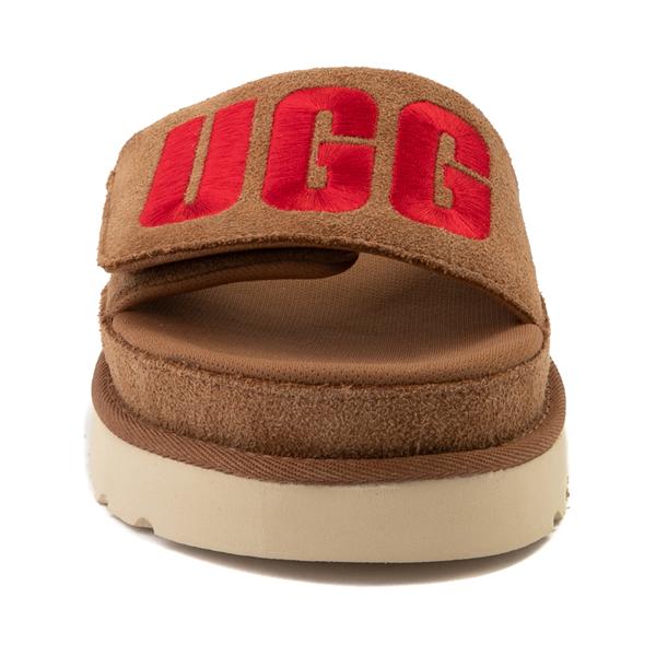 alternate view Womens UGG® Laton Slide Sandal - ChestnutALT4