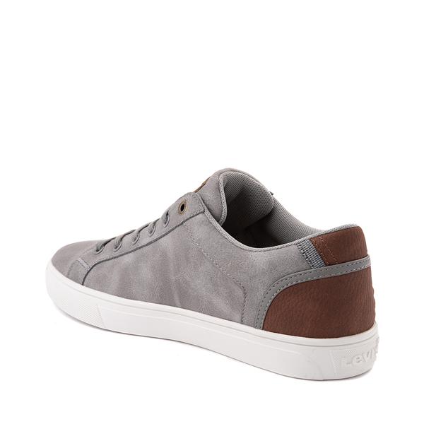 alternate view Mens Levi's 501® Jeffrey Casual Shoe - GrayALT1