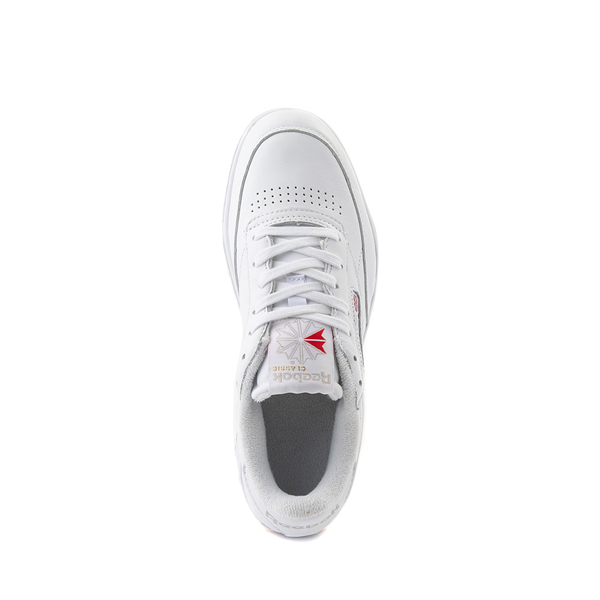 alternate view Reebok Club C Double Athletic Shoe - Big Kid - White / GumALT2