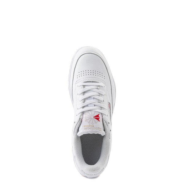 alternate view Reebok Club C Double Athletic Shoe - Big Kid - White / GumALT4B