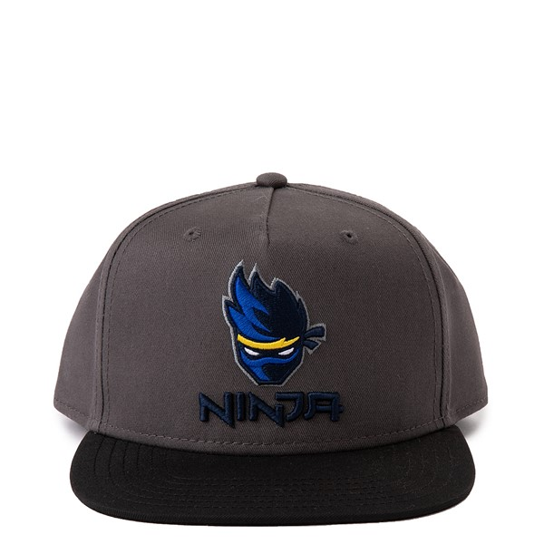 Main view of Ninja Snapback Cap - Gray