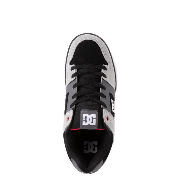 alternate view Mens DC Pure Skate Shoe - Gray / BlackALT2