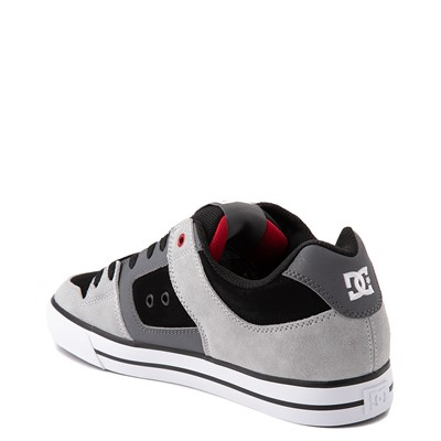 Alternate view of Mens DC Pure Skate Shoe - Gray / Black