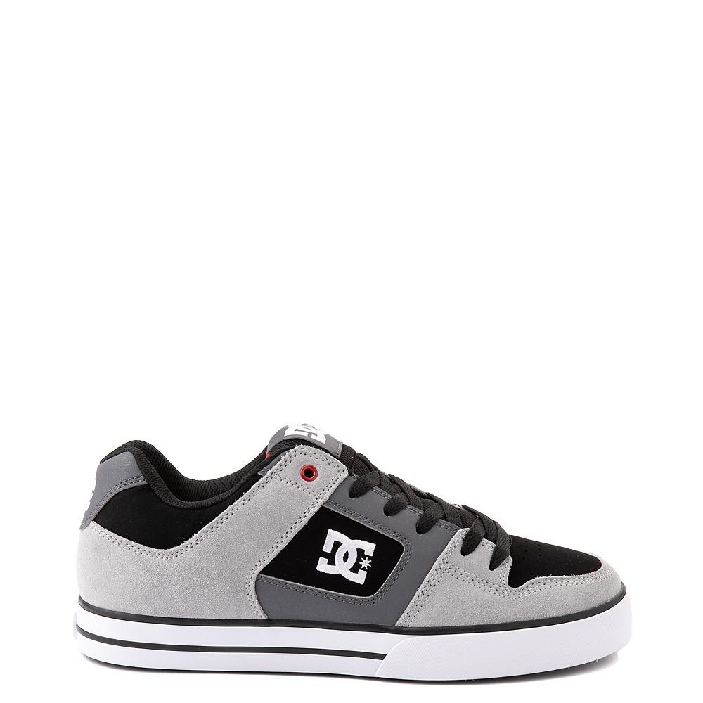 Mens DC Pure Skate Shoe - Gray / Black