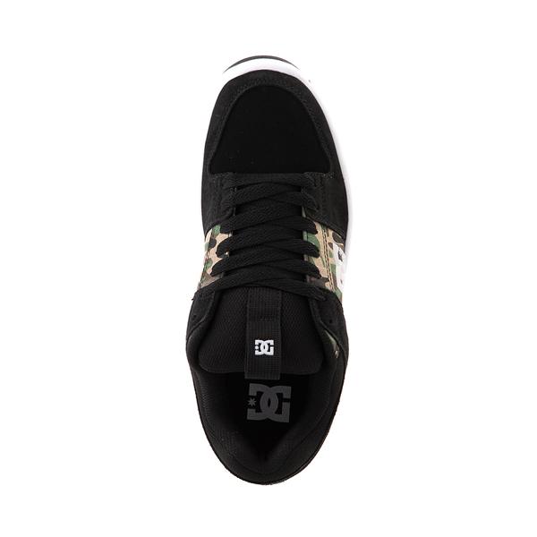 alternate view Mens DC Lynx Zero Skate Shoe - Black / CamoALT2