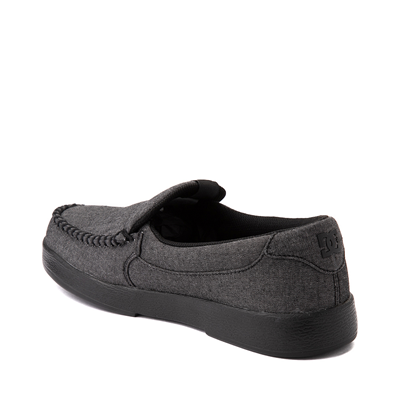 Alternate view of Mens DC Villain 2 Skate Shoe - Charcoal