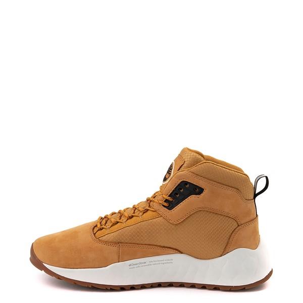 alternate view Mens Timberland Solar Wave Mixed-Media Sneaker Boot - WheatALT1