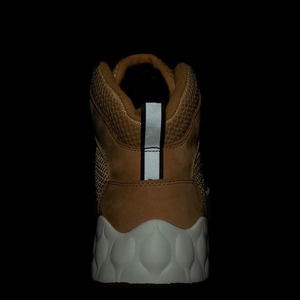 alternate view Mens Timberland Solar Wave Mixed-Media Sneaker Boot - WheatALT4B