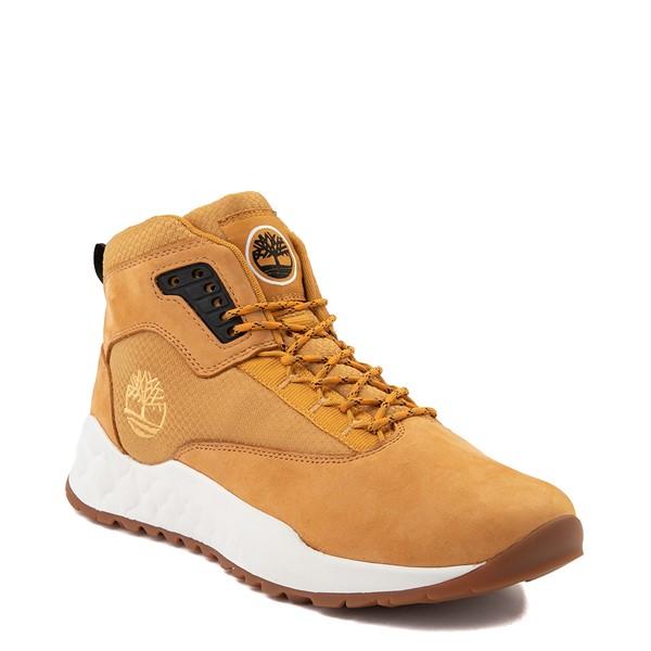 alternate view Mens Timberland Solar Wave Mixed-Media Sneaker Boot - WheatALT5