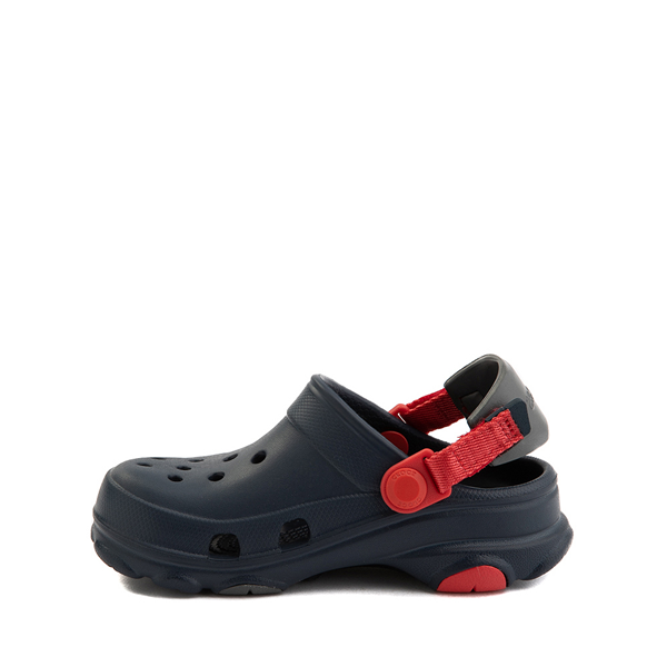 alternate view Crocs Classic All-Terrain Clog - Baby / Toddler / Little Kid - NavyALT1