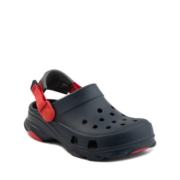 alternate view Crocs Classic All-Terrain Clog - Baby / Toddler / Little Kid - NavyALT5