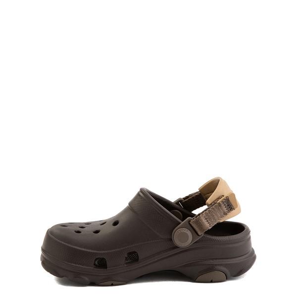 alternate view Crocs Classic All-Terrain Clog - Baby / Toddler / Little Kid - EspressoALT1