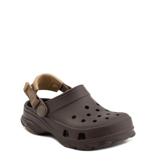 alternate view Crocs Classic All-Terrain Clog - Baby / Toddler / Little Kid - EspressoALT5