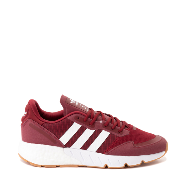 Main view of Mens adidas ZX 1K Boost Athletic Shoe - Collegiate Burgundy