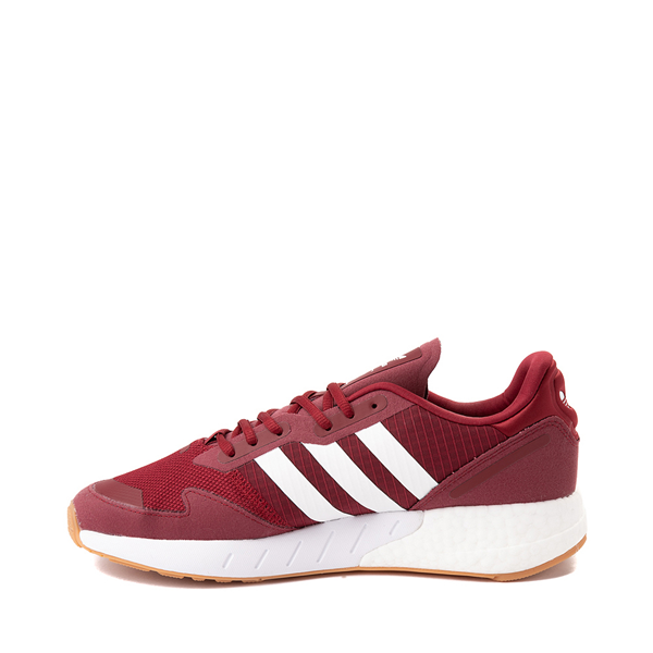 alternate view Mens adidas ZX 1K Boost Athletic Shoe - Collegiate BurgundyALT1