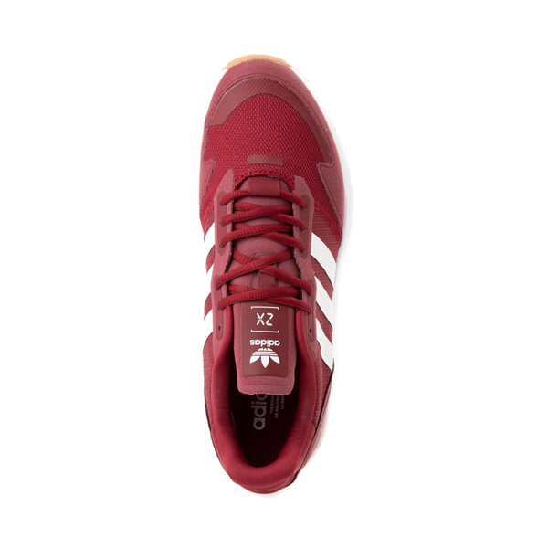alternate view Mens adidas ZX 1K Boost Athletic Shoe - Collegiate BurgundyALT2