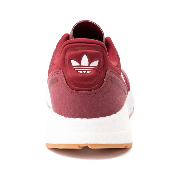 alternate view Mens adidas ZX 1K Boost Athletic Shoe - Collegiate BurgundyALT4