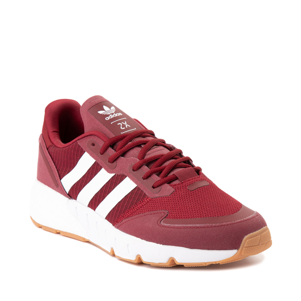 alternate view Mens adidas ZX 1K Boost Athletic Shoe - Collegiate BurgundyALT5