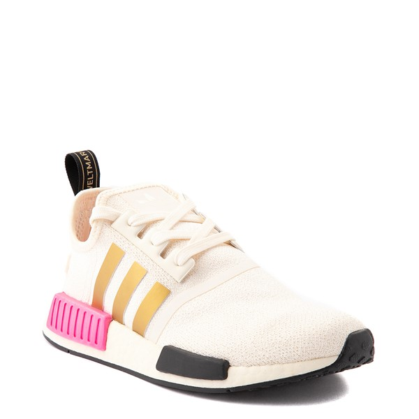 alternate view Womens adidas NMD R1 Athletic Shoe - Cream / Screaming PinkALT5