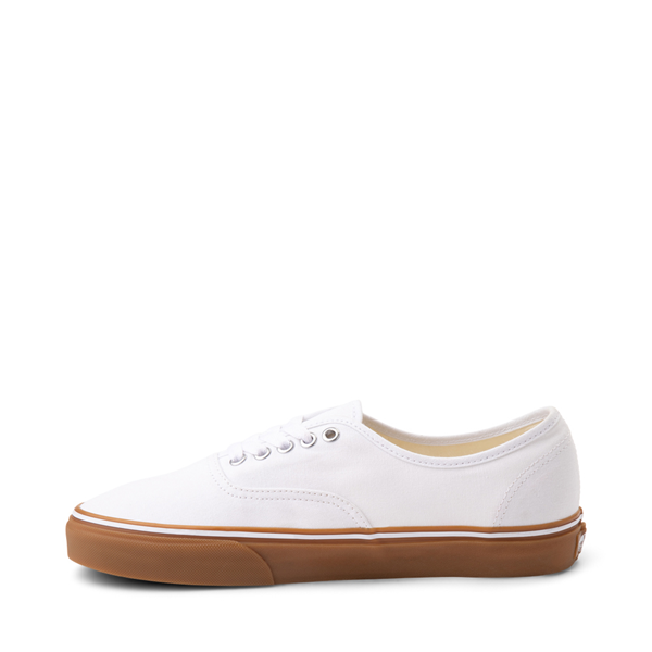 alternate view Vans Authentic Skate Shoe - White / GumALT1