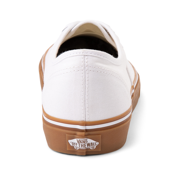 alternate view Vans Authentic Skate Shoe - White / GumALT4