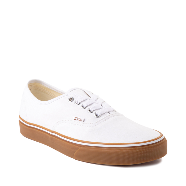 alternate view Vans Authentic Skate Shoe - White / GumALT5