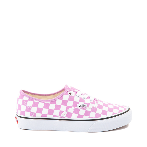 Main view of Vans Authentic Checkerboard Skate Shoe - Orchid