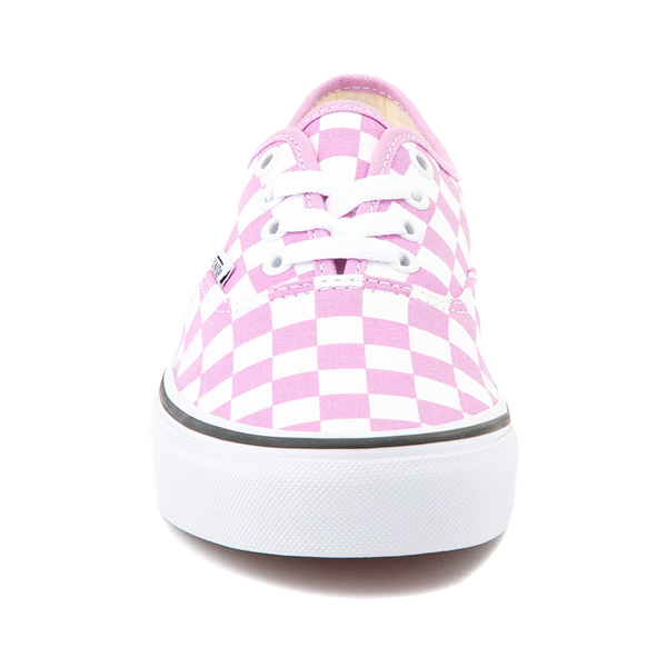 alternate view Vans Authentic Checkerboard Skate Shoe - OrchidALT4