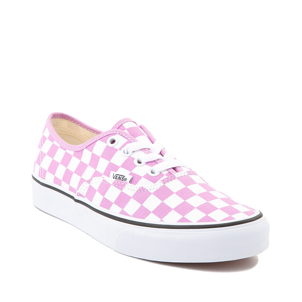 alternate view Vans Authentic Checkerboard Skate Shoe - OrchidALT5