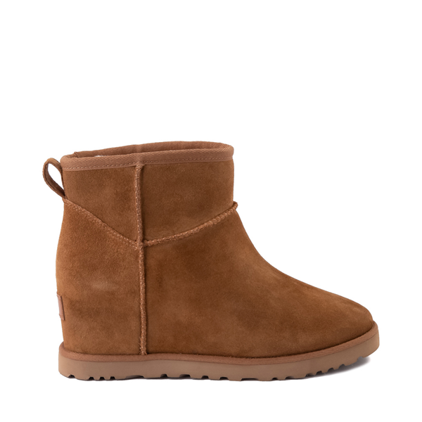 Main view of Womens UGG® Classic Femme Mini Boot - Chestnut
