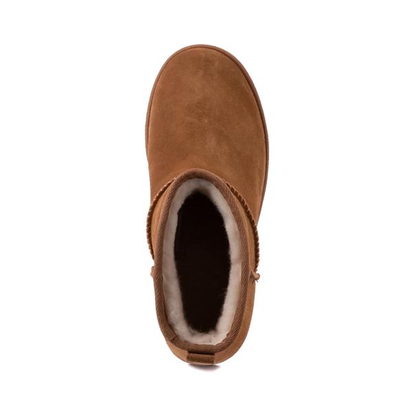 alternate view Womens UGG® Classic Femme Mini Boot - ChestnutALT2