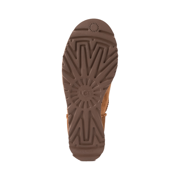 alternate view Womens UGG® Classic Femme Mini Boot - ChestnutALT3
