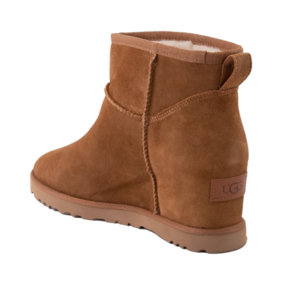 Alternate view of Womens UGG® Classic Femme Mini Boot - Chestnut