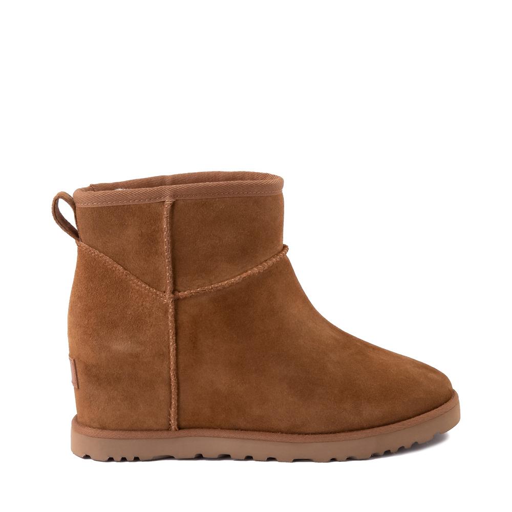 Womens UGG® Classic Femme Mini Boot - Chestnut