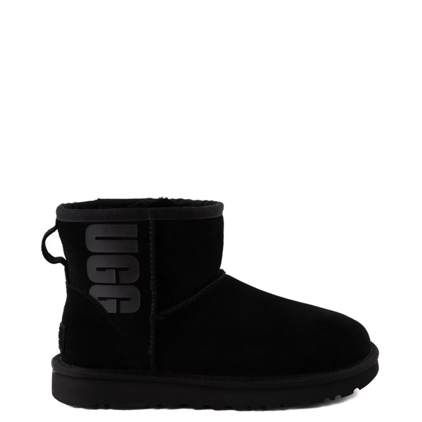Womens UGG® Classic Mini Boot - Black