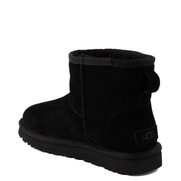 alternate view Womens UGG® Classic Mini Boot - BlackALT2
