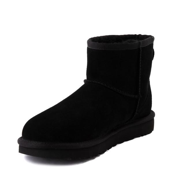 alternate view Womens UGG® Classic Mini Boot - BlackALT3
