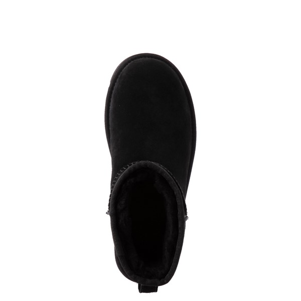 alternate view Womens UGG® Classic Mini Boot - BlackALT4B