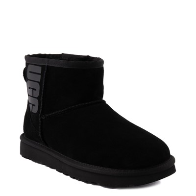 Alternate view of Womens UGG® Classic Mini Boot - Black