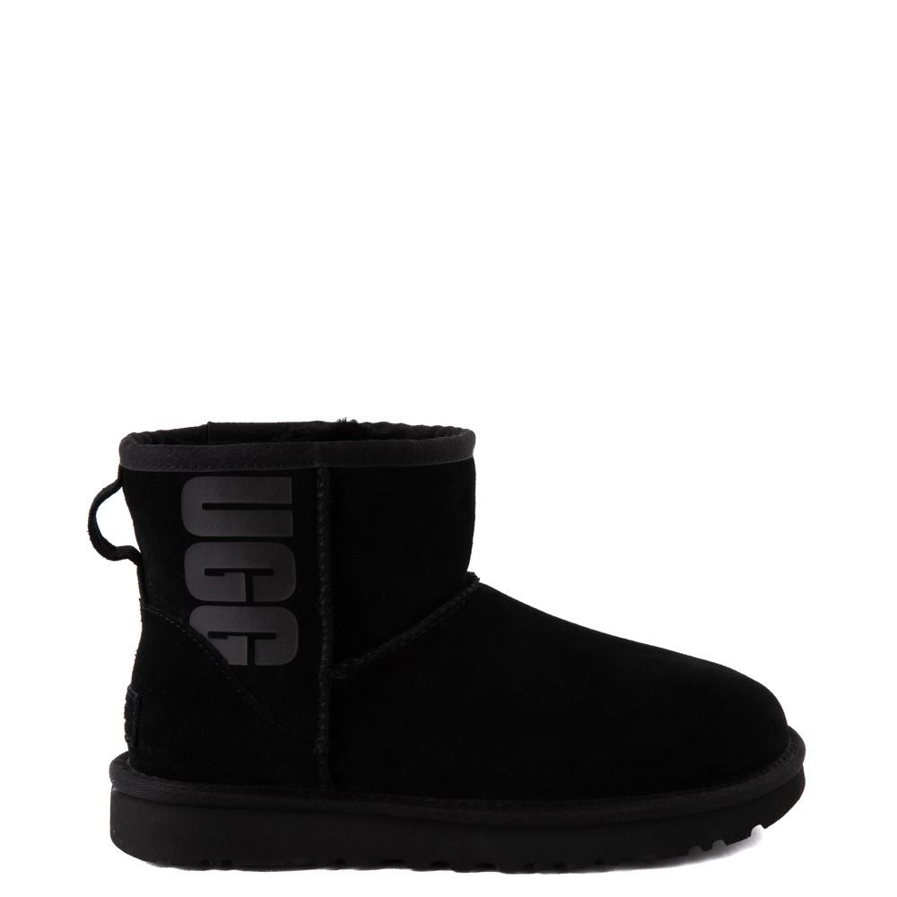 Womens UGG® Classic Mini Boot - Black