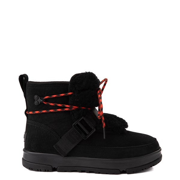 Main view of Womens UGG® Classic Weather Hiker Boot - Black