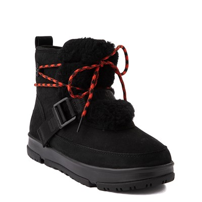 Alternate view of Womens UGG® Classic Weather Hiker Boot - Black
