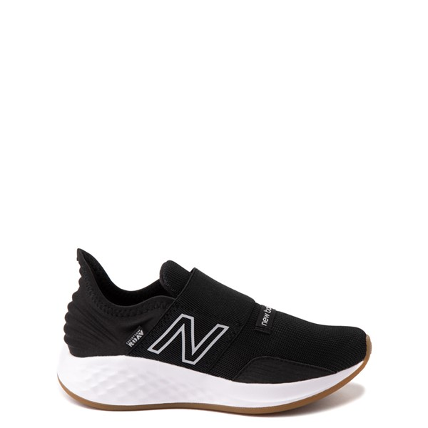 New Balance Fresh Foam Roav Slip On Athletic Shoe - Little Kid - Black