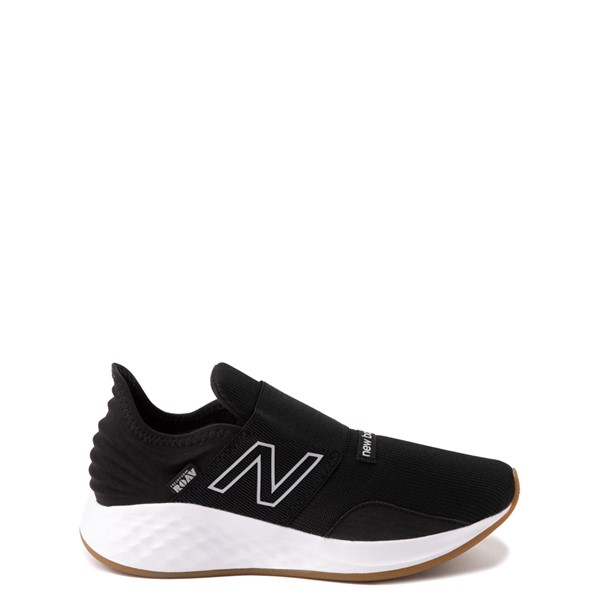 New Balance Fresh Foam Roav Slip On Athletic Shoe - Big Kid - Black