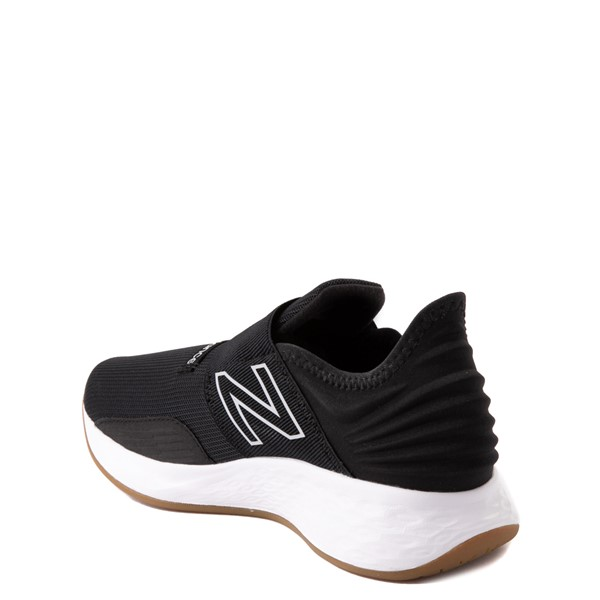 alternate view New Balance Fresh Foam Roav Slip On Athletic Shoe - Big Kid - BlackALT1