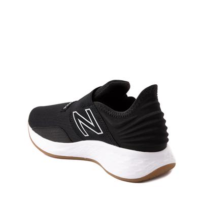 Alternate view of New Balance Fresh Foam Roav Slip On Athletic Shoe - Big Kid - Black